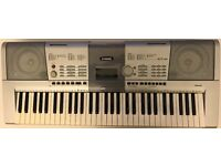 Yamaha PSR-295 keyboard complete with stand, book holder and carry case