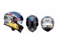 AGV K5-S Guy Martin Replica Motorcycle Helmet S/M