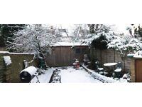 1 Bed Ground Floor Garden Flat in Kilburn For 1/2 Bed in London