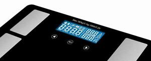 DIGITAL BODY FAT BATHROOM SCALES 180KG RRP $119.99