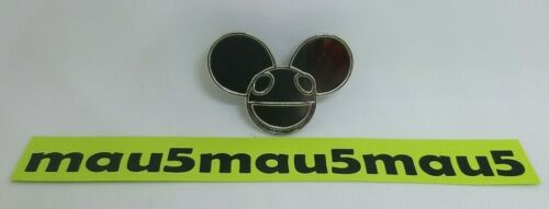 Deadmau5 Series 1 Enamel Pin Numbered to 1000 Cube v3 Tour Chrome Face Head #481