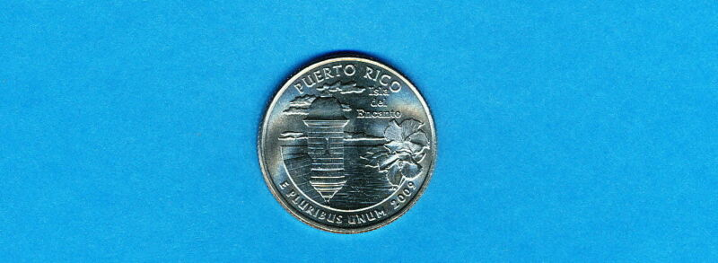 2009-P PUERTO RICO UNCIRCULATED TERRITORIES  QUARTER