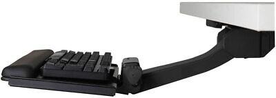 Humanscale 6g 500 Big Platform Ergonomic 27 Keyboard Tray And Gel Palm Rest New