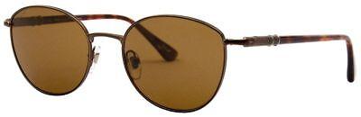 Persol Sonnenbrille PO2421-S 1018/57 52mm braun metall polarisiert H