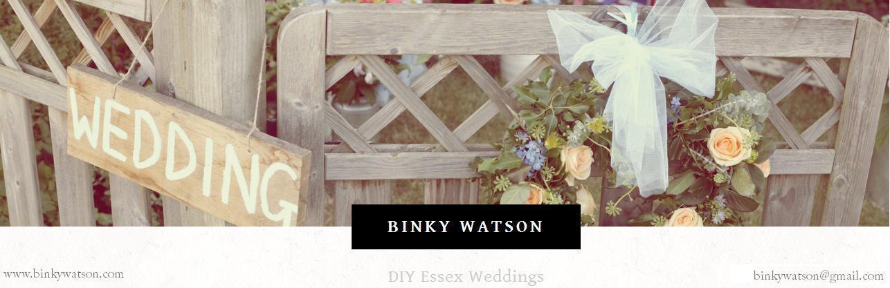 Binky Watson DIY Weddings