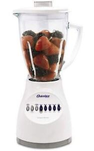 Oster 10 Speed 5 Cup Blender - white
