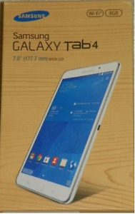 "Samsung Galaxy Tab4 SM-T230NU 7.0"" 8 GB Android Tablet"