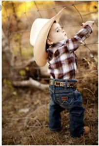 ISO Country/Cowboy/Cowgirl baby stuff
