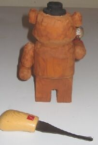 Freddy Fazbear hand carved and hand painted 5 1/2 inch tall Peterborough Peterborough Area image 2
