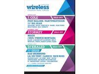 2x WIRELESS FRIDAY TICKET £95