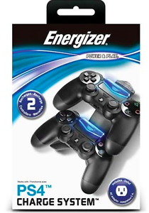 Energizer PS4 CHARGE SYSTEM (CONTROLLERS)