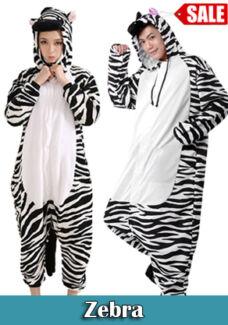 High Quality Animal Onesie Zebra Party Onesie