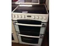 BELLING 60cm ELECTRIC COOKER, 4 MONTHS WARRANTY, FREE LOCAL DELIVERY