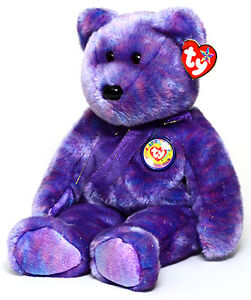 Clubby IV the BBOC Bear Ty Beanie Buddy stuffed animal