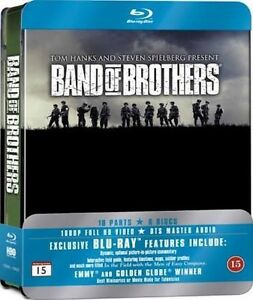 Band of brothers blue ray DVD new Rosewater Port Adelaide Area Preview
