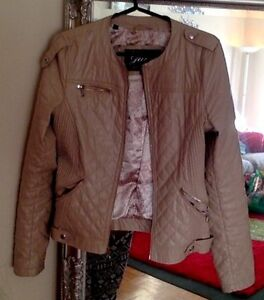 Guess Jacket- Quilted Cream colour Kitchener / Waterloo Kitchener Area image 2