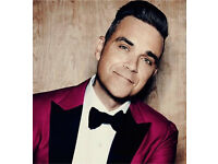 4x robbie Williams tickets. Fri 2nd June. Etihad Stadium