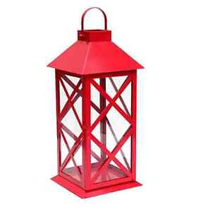 Red steel lanterns FOR RENT