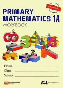 Singapore math textbooks education ebay singapore math 1a fandeluxe Image collections