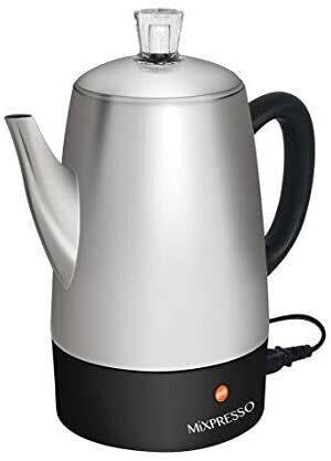 Mixpresso Electric Coffee Maker | Stainless Steel 10 Cups |