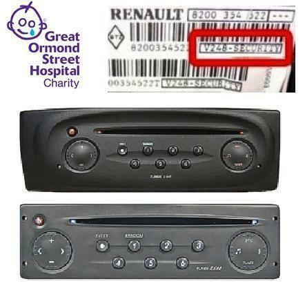 renault radio code car stereos head units ebay. Black Bedroom Furniture Sets. Home Design Ideas