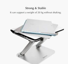 Metal laptop stand