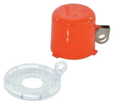 Brady 130820 Push Button Lockout,22Mm,Plastic