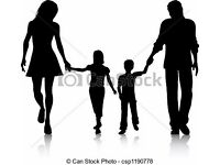 A family with two kids looking for a flat 3/4 bed house to share or taking Independant