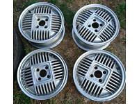 Genuine mg maestro alloy wheels