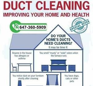 Unlimited Ducts & Vents Cleaning ONLY in 110$ | 647-360-5909