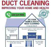 Air Duct Cleaning $99 (226-214-4006)