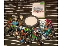 Skylanders 33 piece bundle & Portal and Xbox 360 game (figures can be used with any console im told)