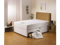 Brand New Double Divan Bed With Mattress Free Delivery