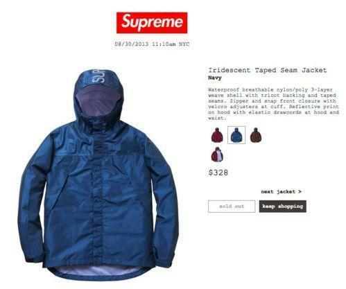 Supreme Jacket Ebay