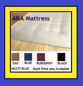High Quality Futon Mattresses with Cotton Layers! Built Better!