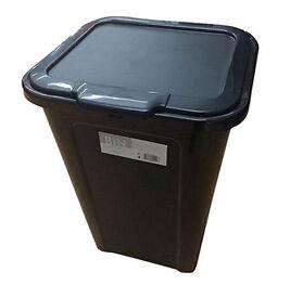 Kitchen bin. Tesco. Black plastic. 40L.