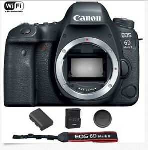 Excellent Canon EOS 6D Mark II / MK 2 Digital SLR Camera