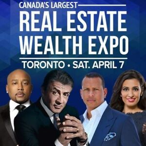 2 VIP TICKETS TO REAL ESTATE EXPO