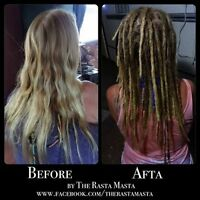 Dreadlocks Professionel! Professional Dreads by The Rasta Masta