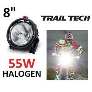 NEW TRAIL TECH 8 55W RACE LIGHT 1832-55-00 244464684 H1 HALOGEN LAMP OFF-ROAD MOTORCYCLE