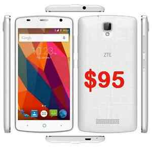 5 NEW UNLOCKED ZTE MOBILE PHONES $80 - $95 EACH Castle Hill The Hills District Preview