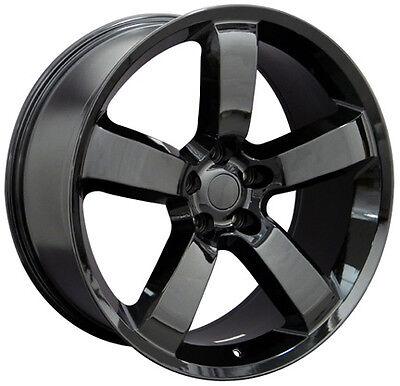 20 Dodge Charger Srt 8 Challenger 300 Mopar Replica Wheels Rims Gloss Black (4)