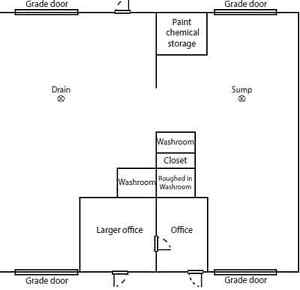 Freestanding Industrial Warehouse Building For Sale/Lease