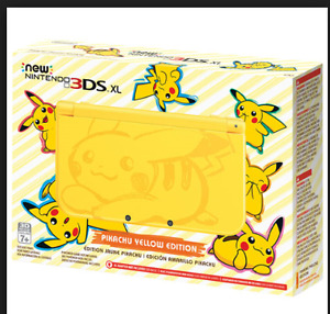 Pikachu Yellow Edition 3DS