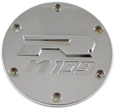 (Billet Aluminum Derby Covers For 2006-2013 Suzuki Boulevard M109R Chrome US)
