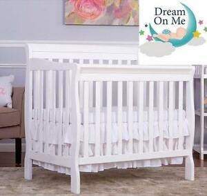 NEW DREAM ON ME CONVERTIBLE CRIB 4 IN 1 - WHITE - BABY CRIB 112544511