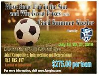 FC Regina is hosting their first ever summer co-ed tournament