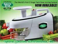 Tribest GSE-5000Green Star Elite Jumbo Twin Gear Juice Extractor