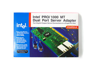 INTEL 8492MT 1000 MT Gigabit Dual Port Server Adapter PCI/PCI-X Network Card NIC