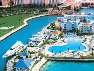 March Break - Atlantis 2 bdrm,  Mar 8-15 incl. 8 water park pass